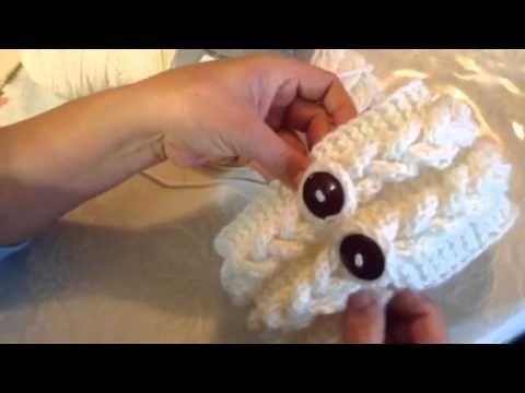 """Vincha Cubreorejas a Crochet """"Trenzas"""" Tutorial por Maricita Colours - YouTube"""