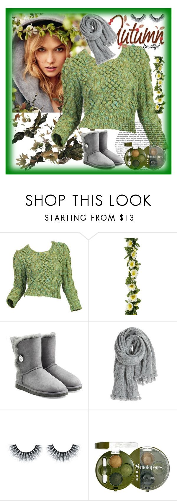 """""""Bez naslova #50"""" by sirena39 ❤ liked on Polyvore featuring Gerber, UGG Australia, Calypso St. Barth, Bourjois, women's clothing, women's fashion, women, female, woman and misses"""