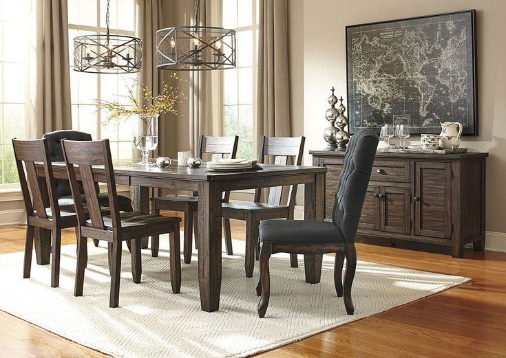 Dining Room Showroom Part - 42: Trudell Golden Brown Rectangular Dining Room Extension Table W/ 4 Side  Chairs,Signature Design By Ashley