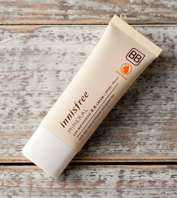 innisfree Mineral sun waterproof BB cream // titanium