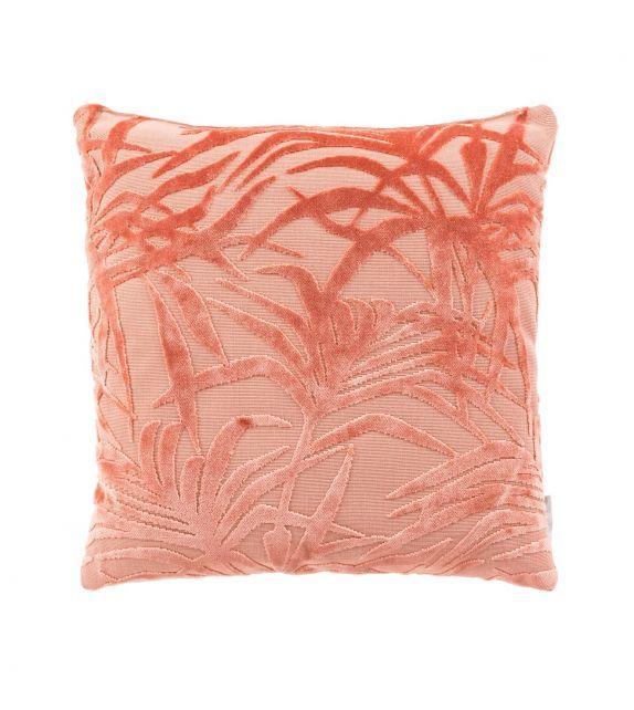 Coussin Rose imrpimé jungle de la marque hollandaise Zuiver #cushion #coussin #style #pink #jungle #fashion #tendance