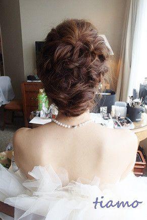 とっても可愛い花嫁さまのこだわりお洒落Wedding♡♡ | 大人可愛いブライダルヘアメイク『tiamo』の結婚カタログ