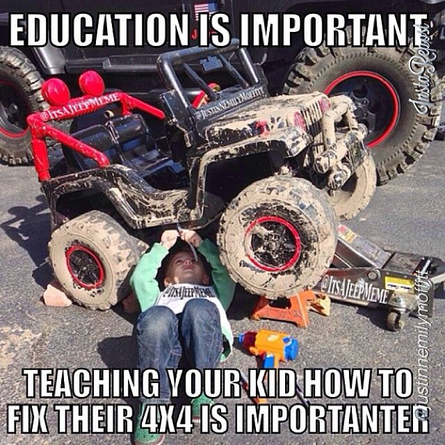 """jeepbeef:   by  @justinnemilymoffitt """"Special thanks to @It's A Jeep Meme for helping me put this together!!! """"  Waaayy 2 fun-e"""