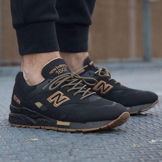 New Balance 1600 BLACK/GOLD
