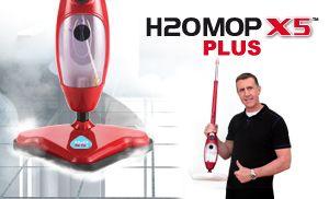 Scopa a vapore H2O Plus