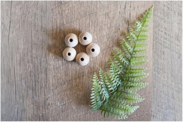 Gorgeous wood beads