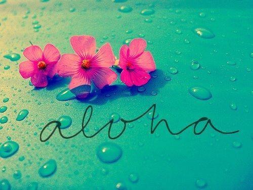 Aloha! Too bad it's already Saturday or it'd be Aloha Friday... :D