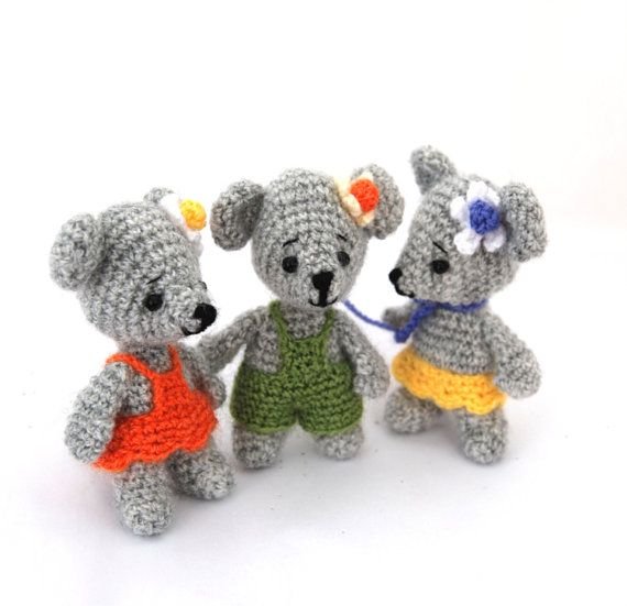 $23.56 #crochet #MOUSE #soft #doll, #mini #mice #toy, #amigurumi #mouse #figurine, #mouse #cloth #doll, #mouse #birthday #party #supply, #girl #mouse #from #crochAndi