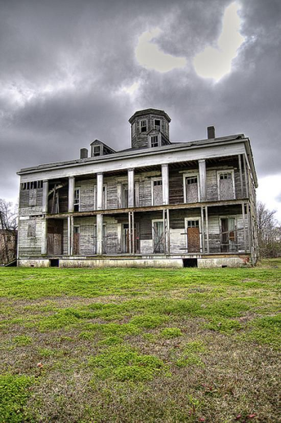 Le Beau House in Arabi, Louisiana. It's an old abandoned plantation house near the Domino Sugar Plant.