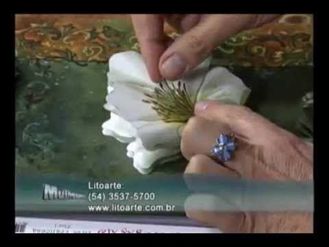 Susan Mason - Arte Francesa - Flor - YouTube