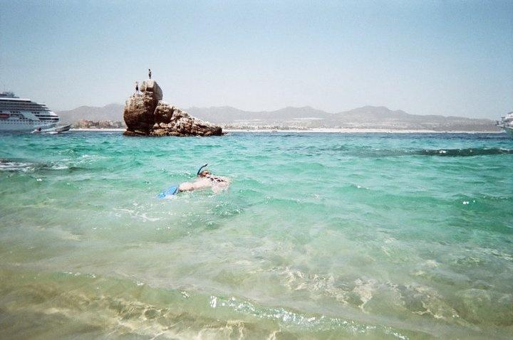 Snorkeling @ Pelican's Rock, Cabo San Lucas, Mexico