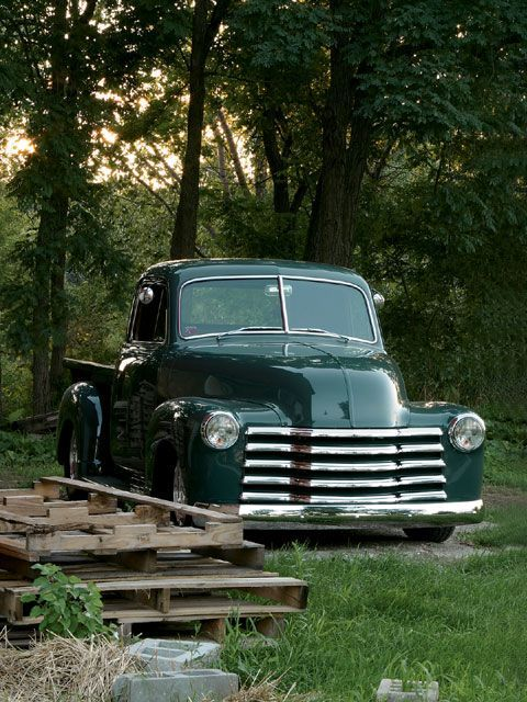 1951 Chevy Truck - Hama Quilt Humility