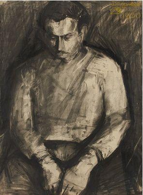 Leon Kossoff - Self Portrait