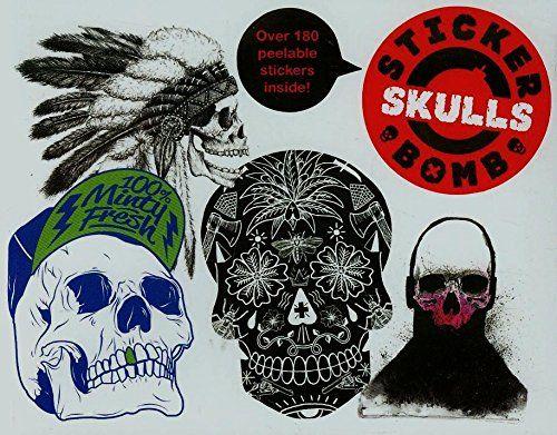 Stickerbomb Skulls by Studio Rarekwai (SRK) http://www.amazon.co.uk/dp/1780671830/ref=cm_sw_r_pi_dp_-Onewb0MYNXTF
