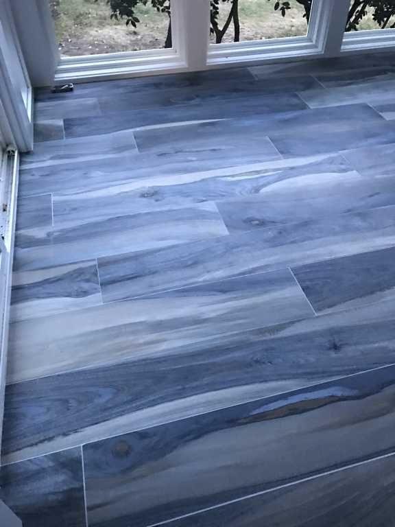 8x48 Matte Porcelain Tile Floor