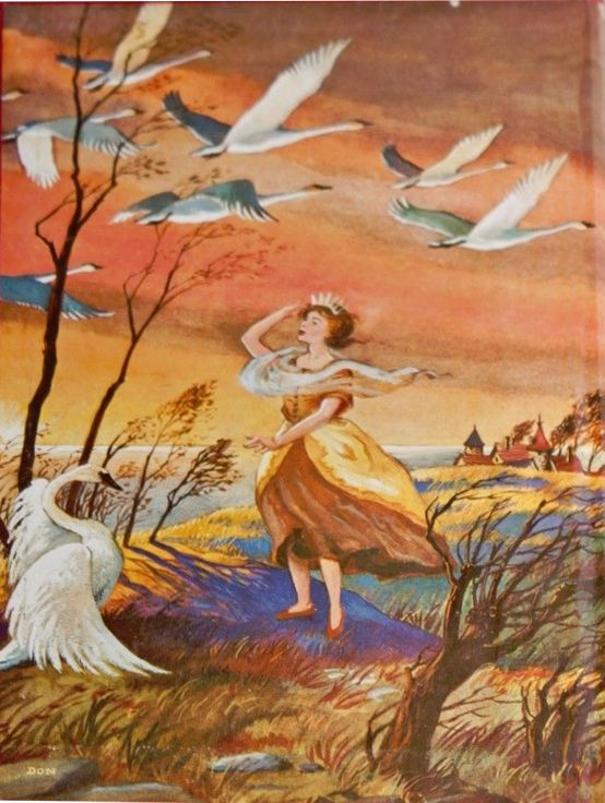 "literary analysis of wild swans at In the stories before ""wild swans,"" we've dealt with rose and flo  years, ready  to slip into place at a critical moment, without even any regard,."