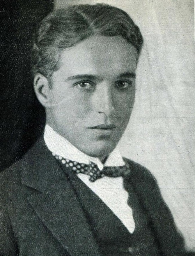A young Charles Chaplin