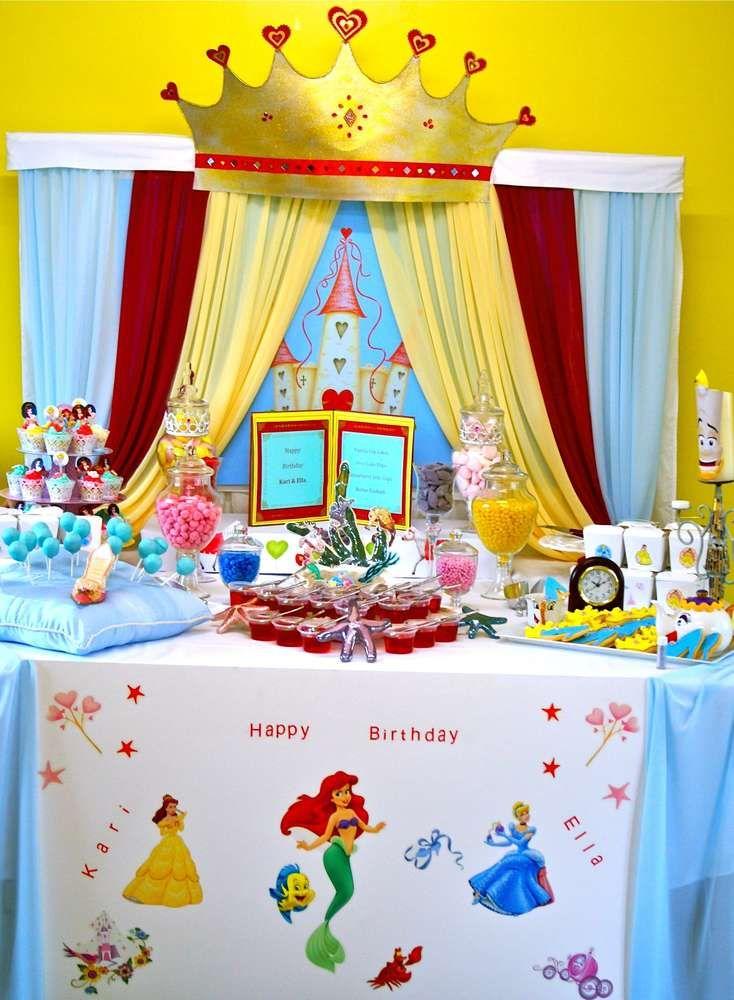 Disney Princess Birthday Party Ideas | Photo 7 of 15 | Catch My Party