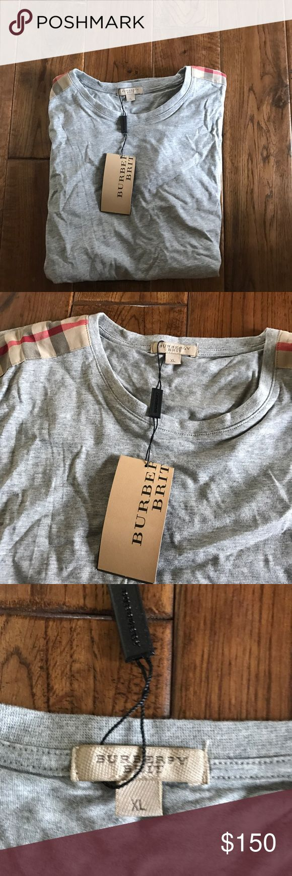 Men's Burberry T-Shirt Size XL Men's never worn before Burberry t-shirt! XL, fits like a LARGE! Burberry Shirts Tees - Short Sleeve