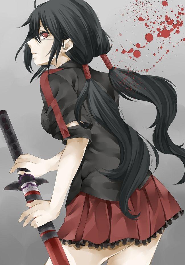 Blood-C - Zerochan.net
