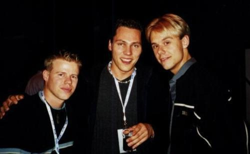 FLASHBACK  - With Ferry Corsten, Tiesto, and Armin Van Buuren.
