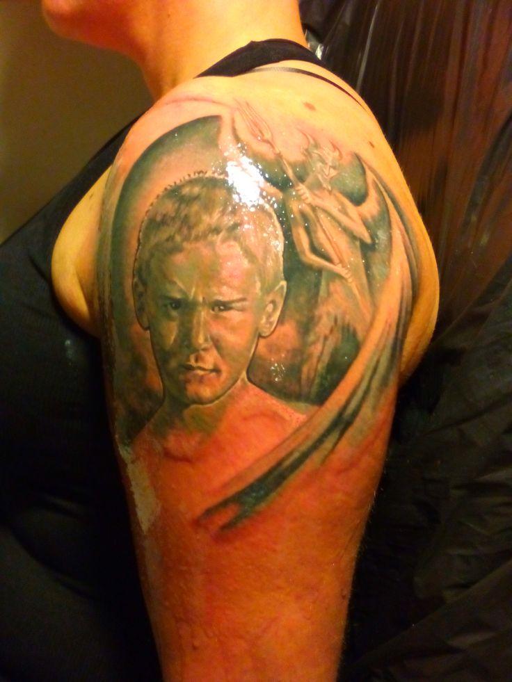 Hányszor mondták kis korunkban: rosszabb vagy mint az ördög :) www.tetovalas-mintak.hu (készülő tetoválás első két óra vége :)