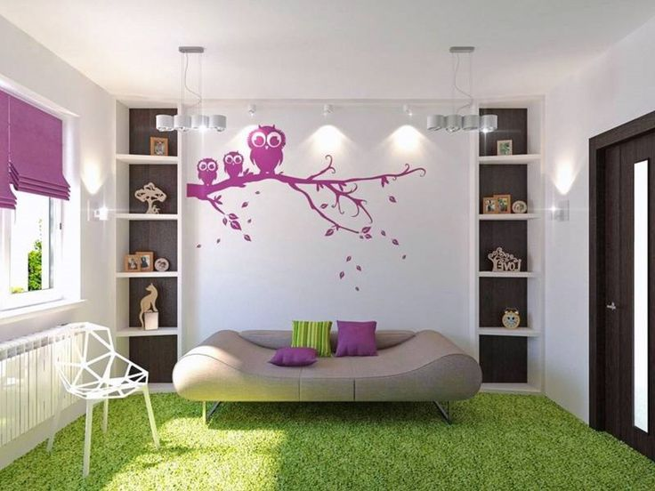 Small Room Ideas For Girls With Cute Color Captivating Girls Room Theme Eas  By Brown Sofa And White Chair Small Bedroom Colors And Designs Small  Bedrooms ...