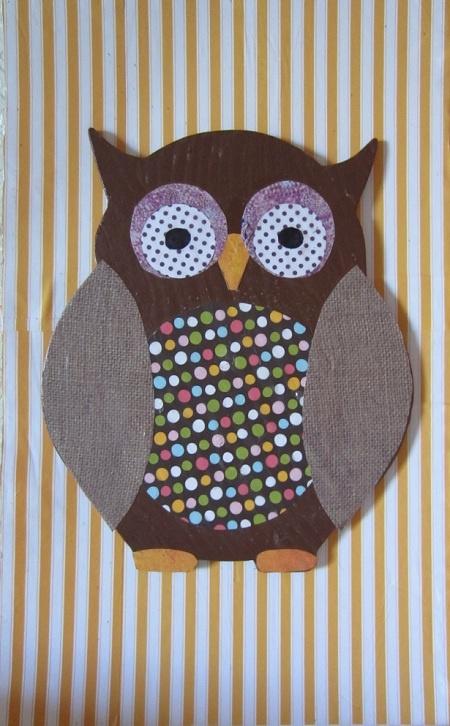 Wooden Owl Wall Art Diy Crafts Blog Sarah Saturdiy