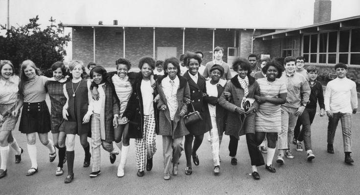 1969: Students from Boise School and West Sylvan School #BackToSchool