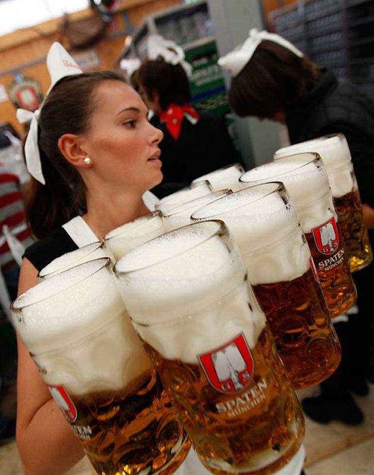 Great German Beers Gather on Oktoberfest: Worlds Biggest Beer Fest Begins http://www.oktoberfesthaus.com