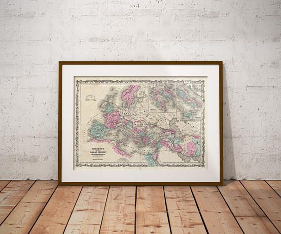 Roman Empire Map Roman Empire Old Map Europe Old Map