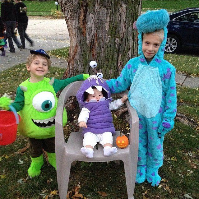 monsters inc costumes - Monsters Inc Baby Halloween Costumes