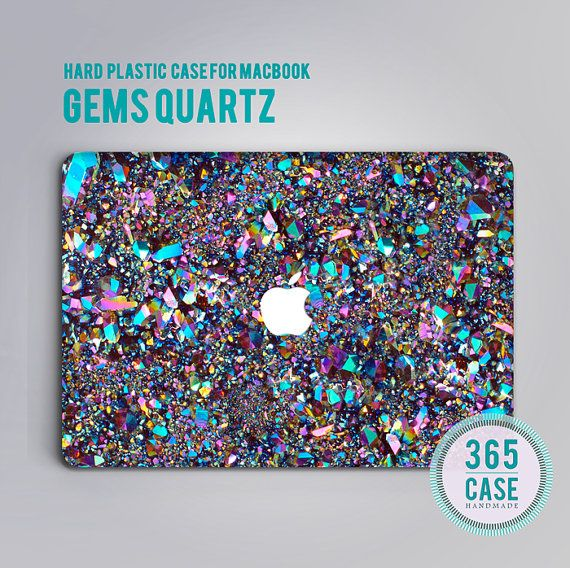Gems Quartz MacBook Case MacBook Air Case MacBook Pro Cover For MacBook Mac Case Mac Book Case MacBook 12 Case MacBook Pro Retina 13 Case