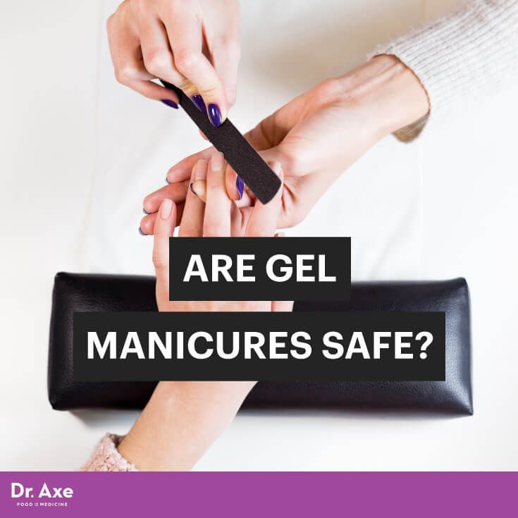 Gel manicures - Dr. Axe http://www.draxe.com #health #holistic #natural