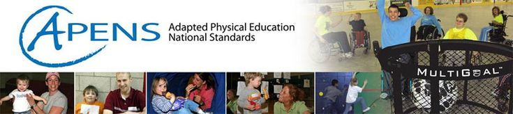 The Adapted Physical Education National Standards (APENS) Web site resource. APENS was developed by members of the National Consortium for Physical Education and Recreation for Individuals with Disabilities (NCPERID.) Individuals who wish to become Nationally Certified Adapted Physical Educators (CAPE) will find our Web site to be a valuable resource in accomplishing your goal.