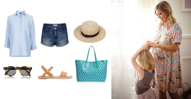 Summer Maternity style with Emily Armstrong from The Paradise Catcher on The Grace Tales here.