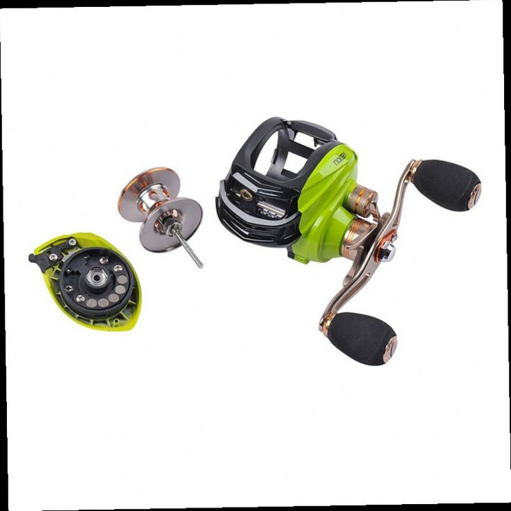 48.54$  Buy now - http://alitaz.worldwells.pw/go.php?t=32634570165 - Noeby pesca baitcasting fishing reel 6.3:1 10 Water Drop Wheel 10+1 ball bearings with one way clutch low profile