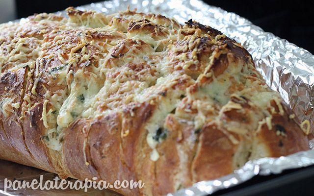 PANELATERAPIA - Blog de Culinária, Gastronomia e Receitas: Pão de Alho com Parmesão