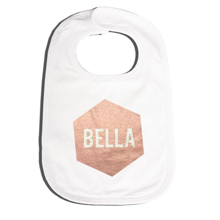 44 best personalised gifts for kids images on pinterest personalised metallic bib negle Images