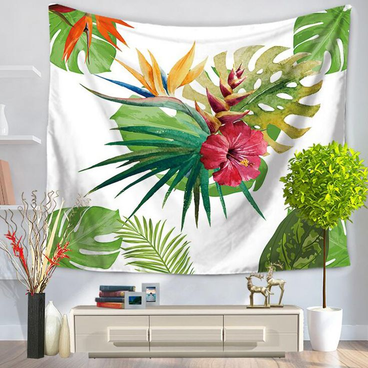 Wall Tapestry Banana Leaves Tropical 100% of buyers enjoyed this product!~ TapestryCorner  #tapestry #textileart #walldecoration #hippie #inspiration #decorative #interior #off #usa #flooring #office #home #decoration #bedroom #livingroom #diy #handmade #best #modern #design #bohemian #beautiful #wallhanging #Colorful