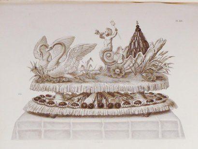 - (Gastronomie) - DUBOIS, Urbain. - La cuisine artistique. Études de l'école moderne