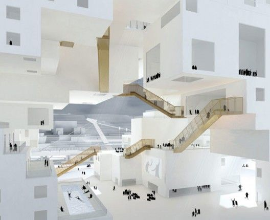 Taipei Performing Arts Center proposal by NL Architects