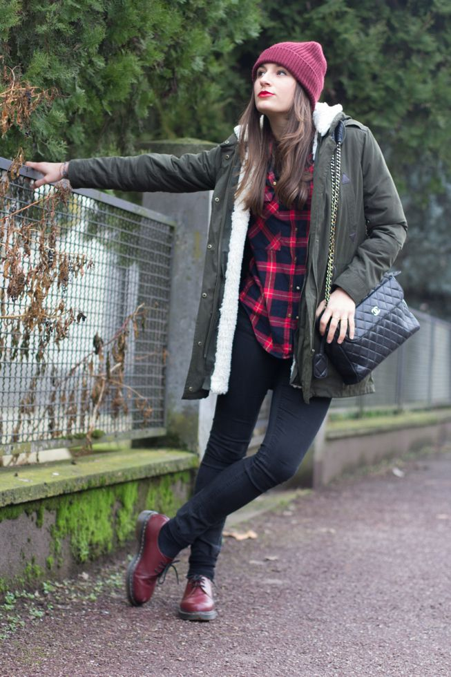 Style and Trouble: Parka, Tartan e Dr Martens