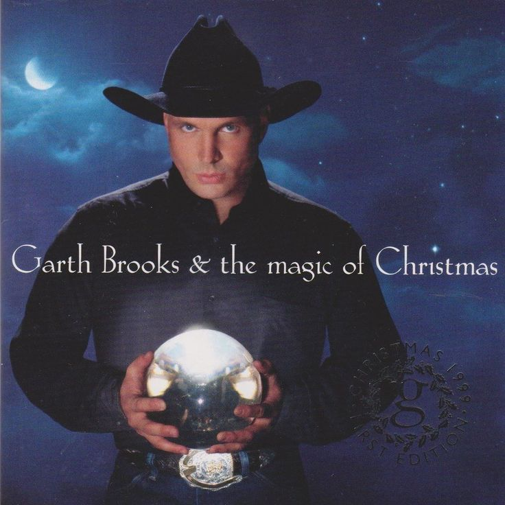 Garth Brooks The Magic of Christmas CD Capitol 1999 First Edition OOP HTF Mint #ContemporaryCountry