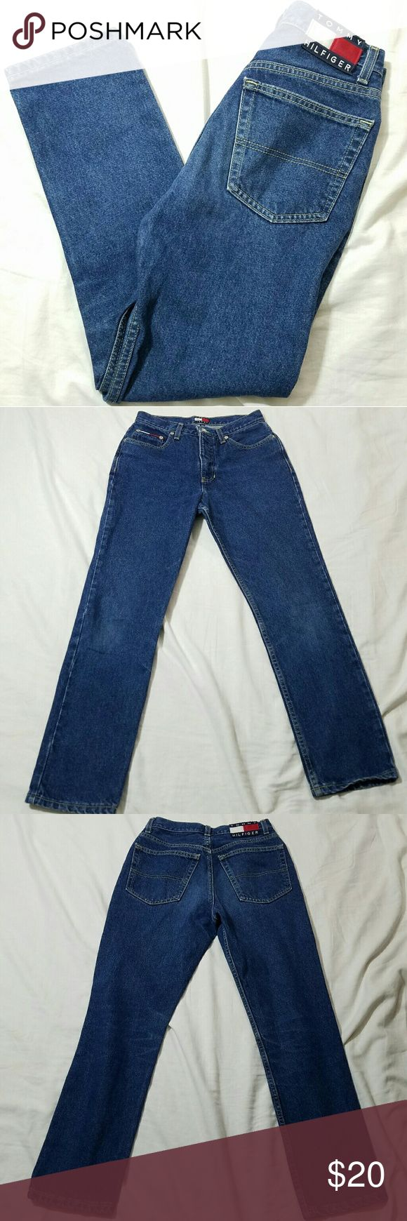 Womens Tommy Hilfiger Jeans Classic Flag Tag 7x28 Womens Tommy Hilfiger Jeans Classic Flag Tag 7x28 Excellent Pre-Owned Condition No rips stains or holes Tommy Hilfiger Jeans Straight Leg