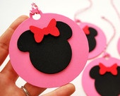 4 Mickey Mouse Christmas Ornament , inspired Mickey Mouse FOAM Christmas Ornament set of 4,A448. $6.00, via Etsy.