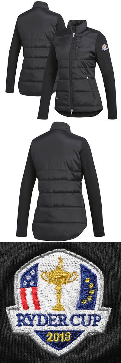 Coats and Jackets 181145: Ryder Cup Adidas Adi 2018 Ryder Cup Women S Climaheat Puffer Jackets - Black -> BUY IT NOW ONLY: $114.99 on eBay!