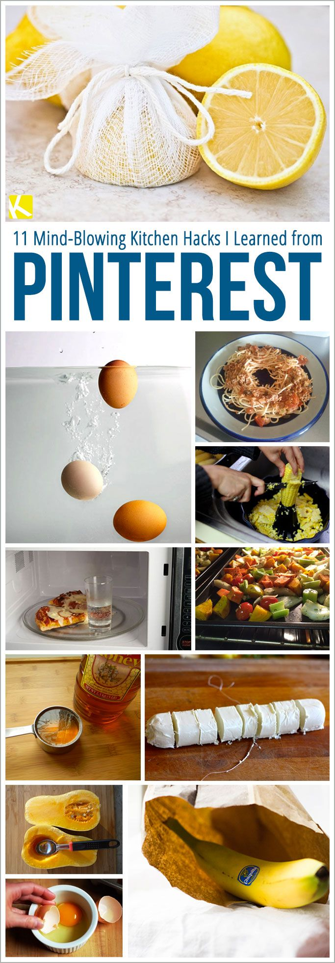 11 Mind-Blowing Kitchen Hacks I Learned from Pinterest