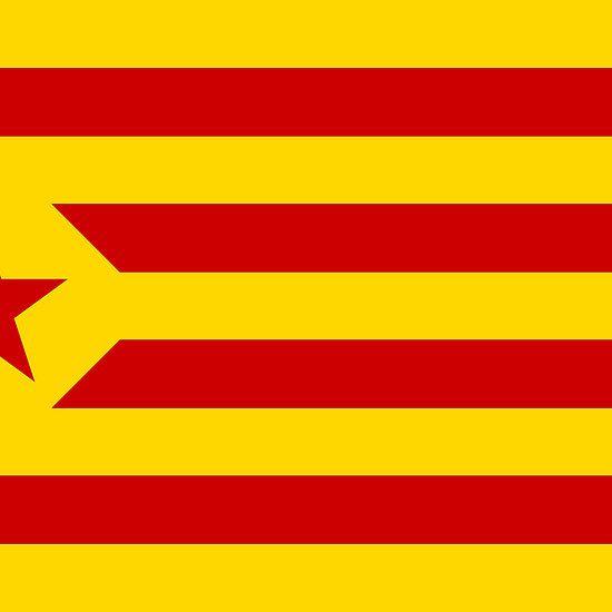 "Catalonia ""L'Estelada Vermella"" Sticker"