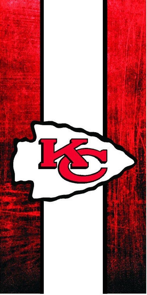Cornhole Wrap Kansas City Chiefs In 2020 Kansas City Chiefs Kansas City Chiefs Logo Chiefs Wallpaper